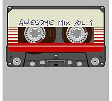 Guardians Awesome Mix Vol 1 Photographic Print