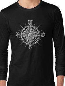PC Gamer's Compass - Adventurer Long Sleeve T-Shirt