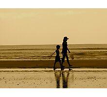 Stroll on the Beach Photographic Print