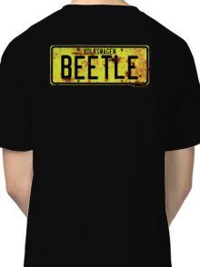 Volkswagen Beetle Number Plate © Classic T-Shirt