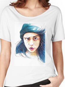 Cara and her weird eye thing Women's Relaxed Fit T-Shirt