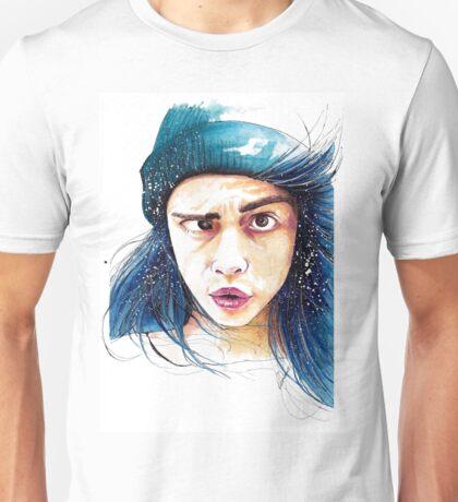 Cara and her weird eye thing Unisex T-Shirt