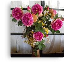 Boquet of Roses Canvas Print