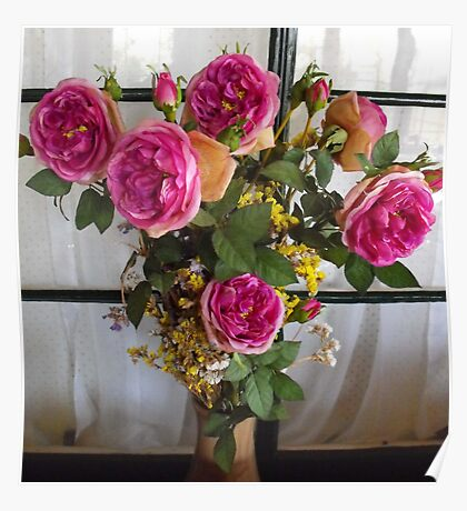 Boquet of Roses Poster