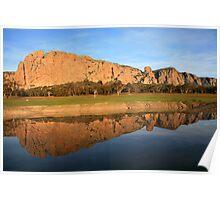 Mt Arapiles, the Rock Climbing icon of Australia Poster