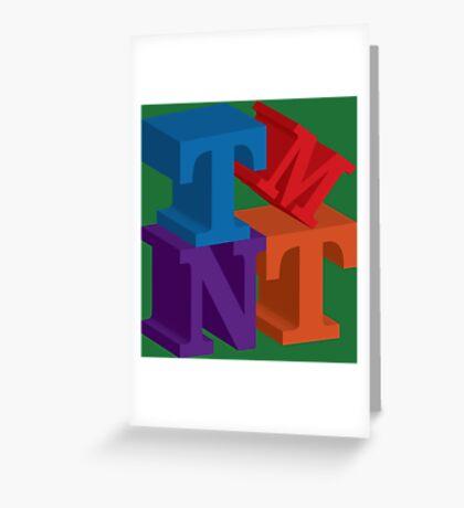 TMNT Greeting Card
