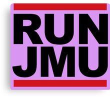 RUN JMU Canvas Print