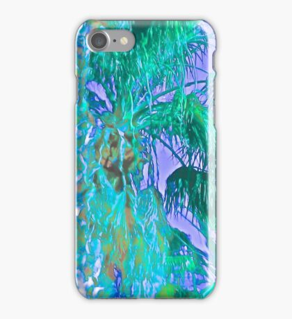 Contemporary Floral Untitled, by Janai-Ami iPhone Case/Skin