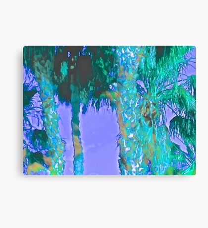 Contemporary Floral Untitled, by Janai-Ami Canvas Print
