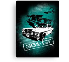 Ford Falcon XY GTHO Phase III (Grunge) © Canvas Print