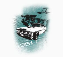 Ford Falcon XY GTHO Phase III (Grunge) © One Piece - Long Sleeve