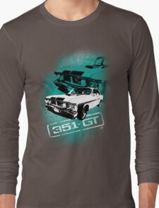 Ford Falcon XY GTHO Phase III (Grunge) © Long Sleeve T-Shirt