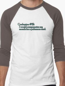 Confession #12 Men's Baseball ¾ T-Shirt