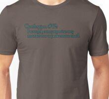 Confession #12 Unisex T-Shirt