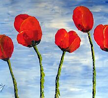 """♪ """"Tulips from Amsterdam"""" ♪ by Elizabeth Kendall"""