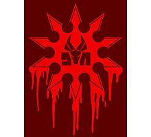 Die Antwoord Ninja Star (Red Version) Photographic Print