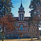 Flathead County Montana Court House by Bryan D. Spellman