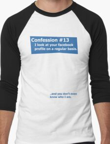 Confession #13 Men's Baseball ¾ T-Shirt