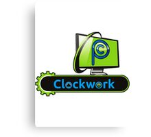 Clockwork PC Logo Canvas Print