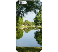 Peaceful Mirror Image iPhone Case/Skin