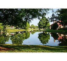 Peaceful Mirror Image Photographic Print