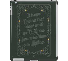 Harry Potter Quote iPad Case/Skin