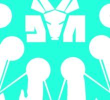 Die Antwoord Ninja Star (Aqua Version) Sticker