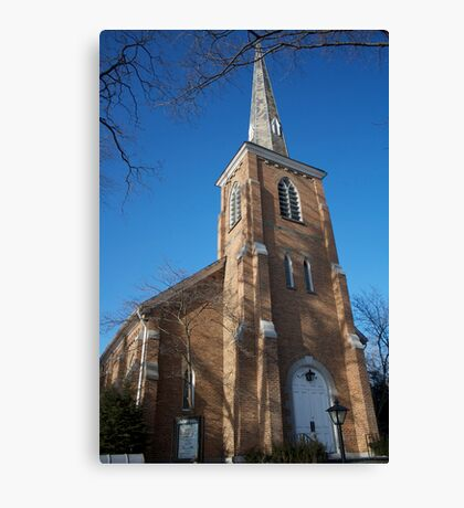 Community Church of Slingerlands Canvas Print