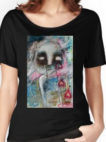 Abstract Portrait  Women's Relaxed Fit T-Shirt