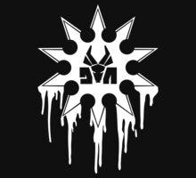 Die Antwoord Ninja Star (White Version) by Magmata