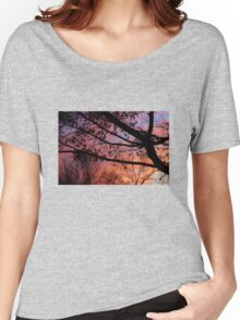 Sunset in the Maple Tree Women's Relaxed Fit T-Shirt