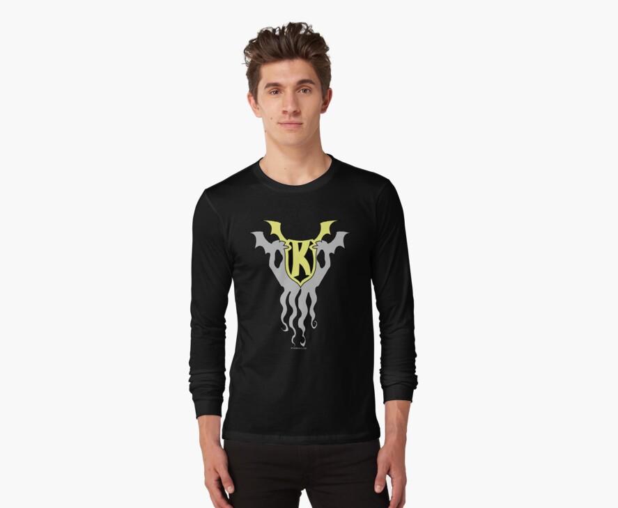 Kid Kthulu Emblem Shirt  #1 by tnperkins