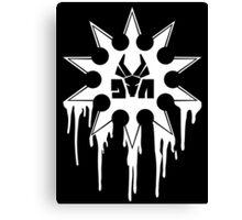 Die Antwoord Ninja Star (White Version) Canvas Print