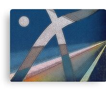 Go Back...you are going the wrong way! Canvas Print
