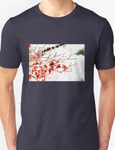 Snowy Maple Abstract T-Shirt