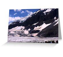 Columbian Icefields Greeting Card