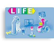 The Game of Life Canvas Print