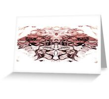 Abstract Symmetrical Bouc Greeting Card