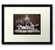 Thai Sculptures Framed Print