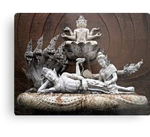 Thai Sculptures Metal Print