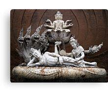 Thai Sculptures Canvas Print