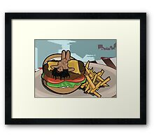 You disgust me Framed Print