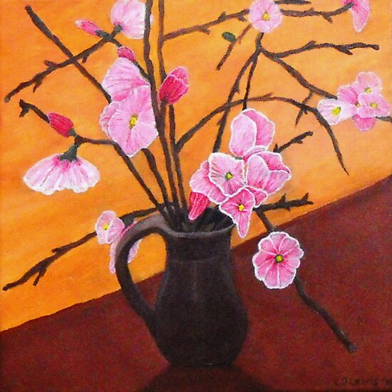 Blossoms by C J Lewis