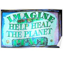 Heal the World~Peace Poster