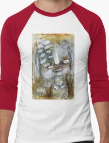 Abstract Portrait Men's Baseball ¾ T-Shirt