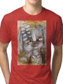 Abstract Portrait Tri-blend T-Shirt