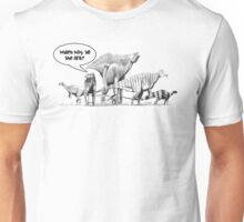 Which way to the Ark? Unisex T-Shirt