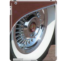 White Wall tyre glamour  iPad Case/Skin