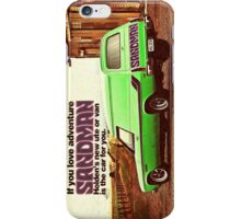 Holden Sandman Panel Van - Nostalgic © iPhone Case/Skin