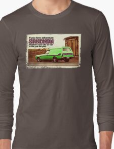 Holden Sandman Panel Van - Nostalgic © Long Sleeve T-Shirt